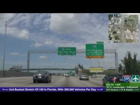 I-95 North (FL), Miami To Ft. Lauderdale, US 1 To I-595