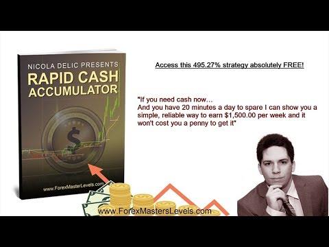 RAPID CASH ACCUMULATOR - NICOLA DELIC - FOREX MASTER LEVELS