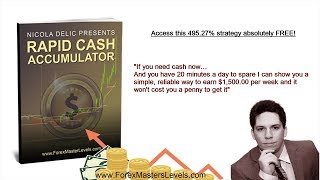 RAPID CASH ACCUMULATOR - NICOLA DELIC - FOREX MASTER LEVELS
