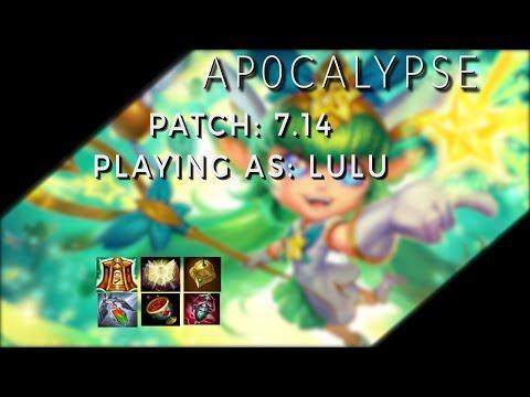 AP0CALYPSE Patch 7.14 Lulu Diamond 1 | League Of Legends