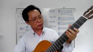 Học guitar căn bản cho người mới bắt đầu - Bài 1: Nhạc lý cơ bản - Duc giang music