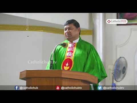 English Mass@ St. Anthony's Church, Venkatapuram, Alwal,TS,INDIA.10-10-18