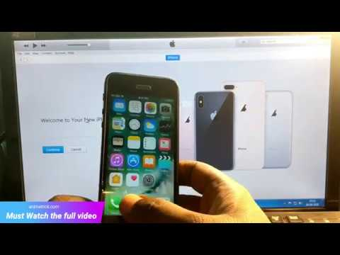 Iphone 5 Icloud Activation Lock Unlocked Ios 10 100 Working Permanent Solution June 2019 Youtube
