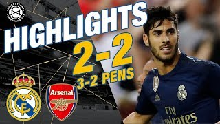 GOALS & HIGHLIGHTS | Real Madrid 2-2 Arsenal (3-2 pens)