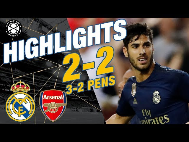 GOALS & HIGHLIGHTS | Real Madrid 2-2 Arsenal (3-2 pens)