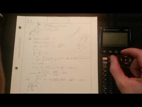 How To Evaluate A Definite Integral On A TI-86