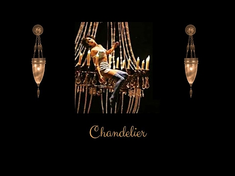 Sia - Chandelier Acoustic Version With Lyrics - YouTube