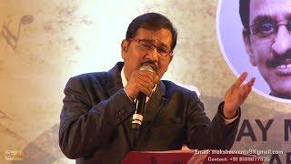 Chingari koi bhadke   Sudesh Bhosle   Moksha Events   Live Music   Evergreen Songs