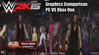 WWE 2K15 - Graphics Comparison - PC VS Xbox One [ HD ]