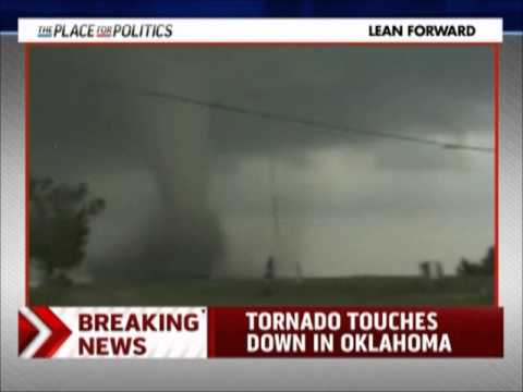 MSNBC Live with Cenk Uygur - KFOR Tornado Coverage - 5/24/2011