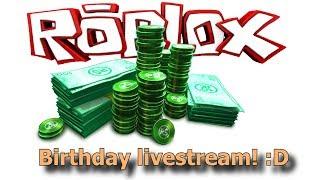 [Ended] Birthday Livestream! (ROBLOX Epic Minigames & Jailbreak)
