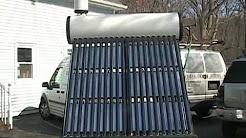 Solar Hot Water Heater Thermosiphon DIY