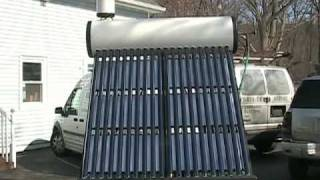 Solar Hot Water Heater Thermosiphon Diy