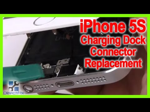 Learn How To Replace The Iphone 5s Charging Dock Connector