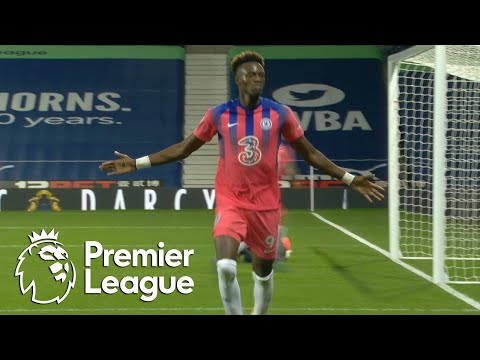 Tammy Abraham snatches stoppage-time Chelsea equalizer v. West Brom | Premier League | NBC Sports