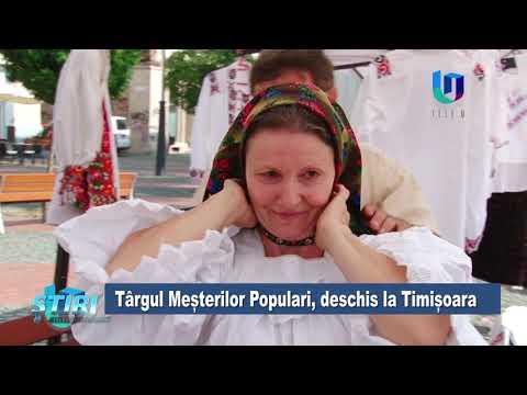 TeleU: Târgul Meșterilor Populari, deschis la Timișoara