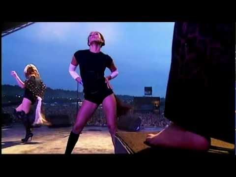 Goldfrapp - Strict Machine - Glastonbury 2004