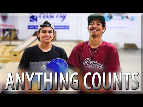 EVERYTHING COUNTS SKATE! VINNIE BANH vs CARLOS LASTRA