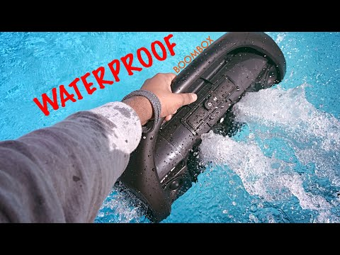 Water Bass Test - JBL Boombox [ Waterproof ]