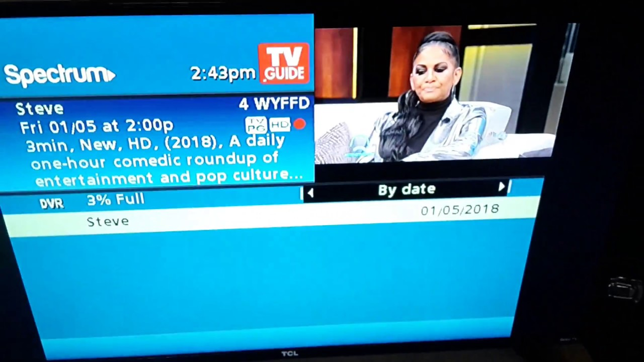 How to record tv programs on spectrum tv services
