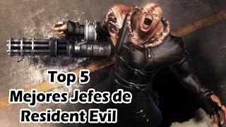 Top 5 Mejores Jefes de Resident Evil