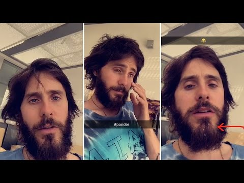Jared Leto | Snapchat Videos | April 24th 2017