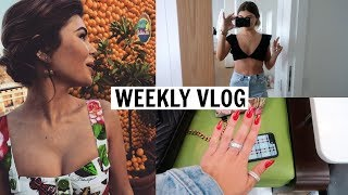 VLOG 10 l Mini haul, fancy parties, & more l Olivia Jade