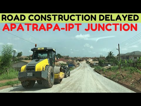 Road Construction Delayed On The Apatrapa To IPT Junction Street.