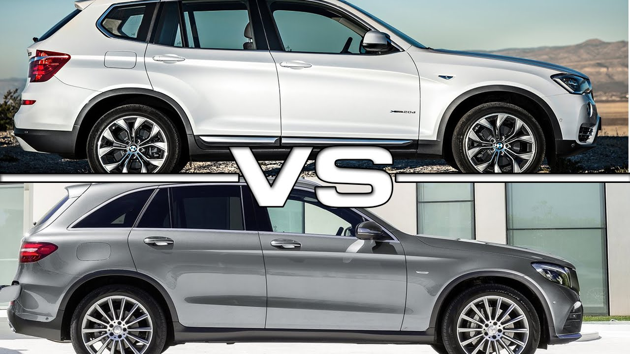 2016 BMW X3 vs 2016 Mercedes GLC  YouTube
