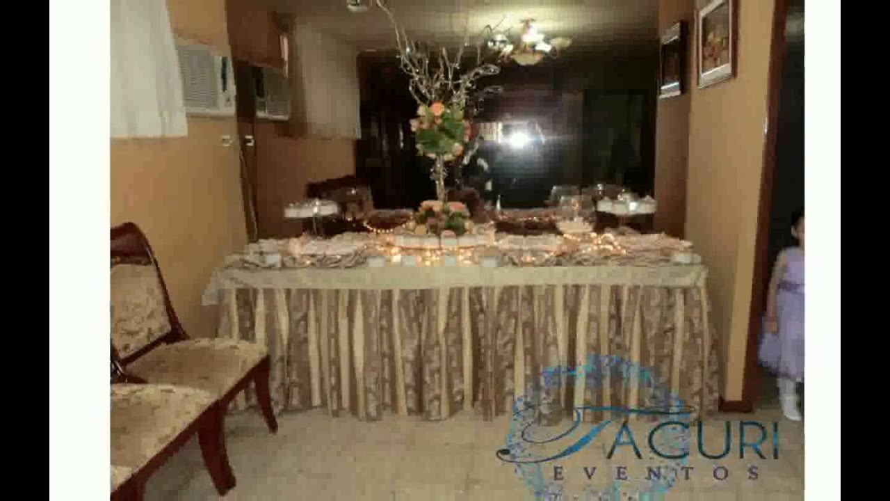 Decoraci n para matrimonio civil en casa youtube - Decoraciones de casas pequenas ...
