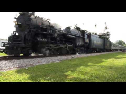 Pere Marquette 1225 2-8-4 Berkshire locomotive