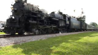 Pere Marquette 1225 2-8-4 Berkshire locomotive