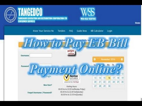 How To Pay EB Bill Online With Https://www.tnebnet.org/awp/login