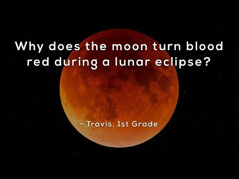 why-does-the-moon-turn-blood-red-during-a-lunar-eclipse?