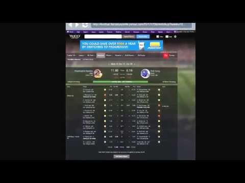 Yahoo Sports Fantasy Football Ep 4. It
