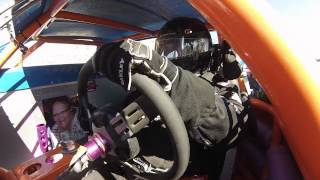 Santa Maria Speedway Joey Claborn IMCA West Coast Super Stock #88C Hot Laps View #1 8/3/13