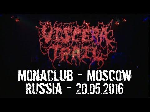 Viscera Trail LIVE @ Monaclub - Moscow - Russia 20.05.2016 - Dani Zed - Death Metal