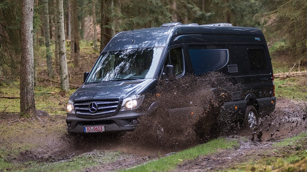 mercedes sprinter allrad test lunar landstar rl wohnmobil. Black Bedroom Furniture Sets. Home Design Ideas