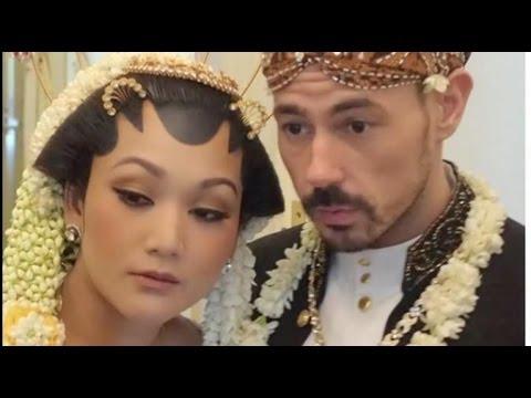 Cicit Soeharto Menikah dengan Bule Italia