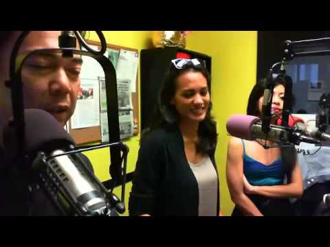 KITV Newscaster Ashley Moser appears live on the Midday Radio Show with Allan Alvarez