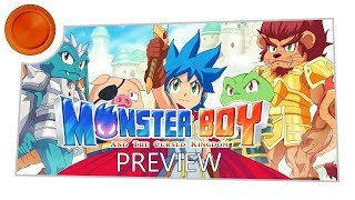Monster Boy and the Cursed Kingdom - Preview - Xbox One
