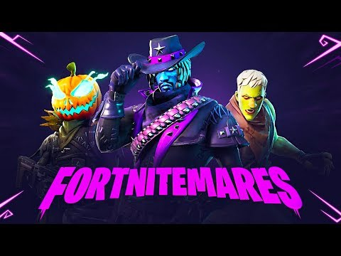 FORTNITEMARES!! *NEW* Revolver, Zombies, Pumpkin Launcher & MORE!! (Fortnite Battle Royale)