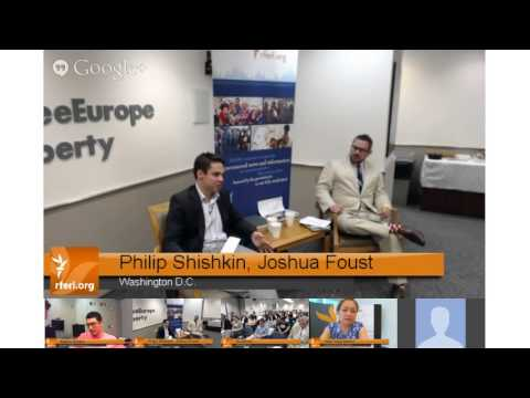 Briefing/Google Hangout on Central Asia with author Philip Shishkin