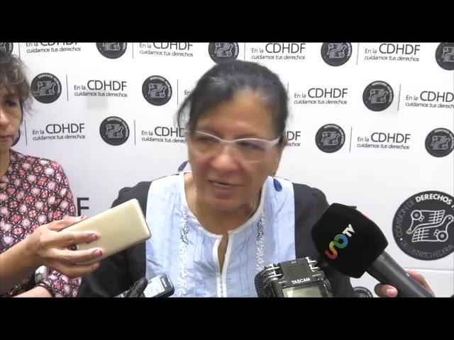 Entrevista a Ombudsperson capitalina, Nashieli Ramírez, tras Recomendación 05/2019