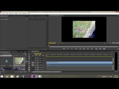 Как синхронизировать видео по звуку в Premiere Pro CC?