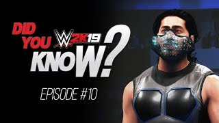 WWE 2K19 Did You Know? How To Get Mustafa Ali's Mask, Bonus Catapult Finishers & More! (Episode 10)