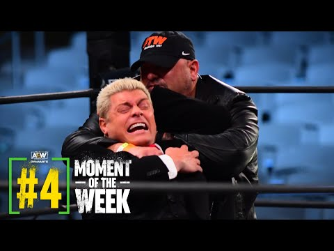 Watch Went Down Between Taz and Cody | AEW Dynamite, 11/25/20