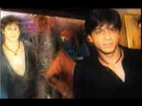 Shahrukh Khan painted with M.F.Husain