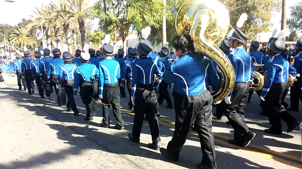 Perris Christmas Parade 2020 Lakeside Middle School marching band 2015 2016 Perris Christmas