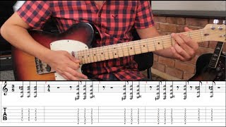 "Como tocar ""Highway To Hell"" de AC/DC - Tutorial Guitarra (HD)"